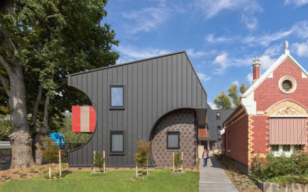 New apartment buildings at historic Rushall Park shortlisted for Victorian architecture award